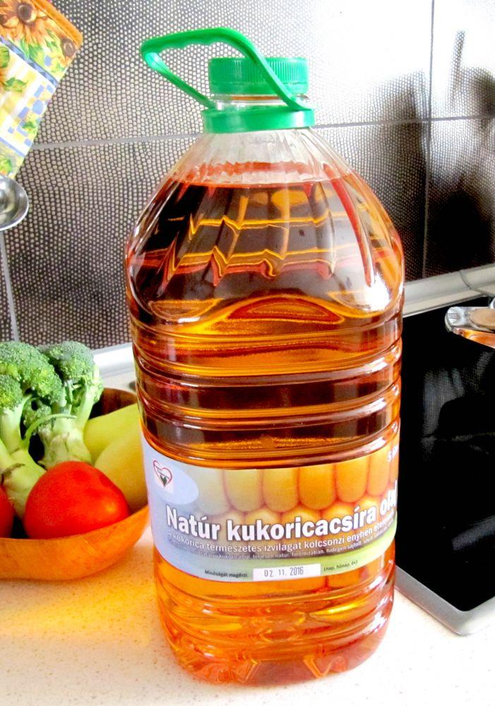 Bagoila Hidegen Sajtolt Kukoricacsíra Olaj 5 liter