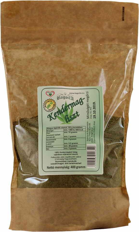 Bagoila Kendermag liszt 400 gramm