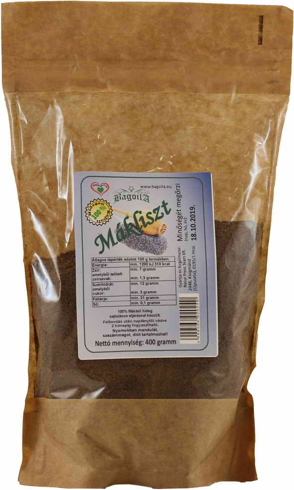 Bagoila Mák liszt 400 gramm