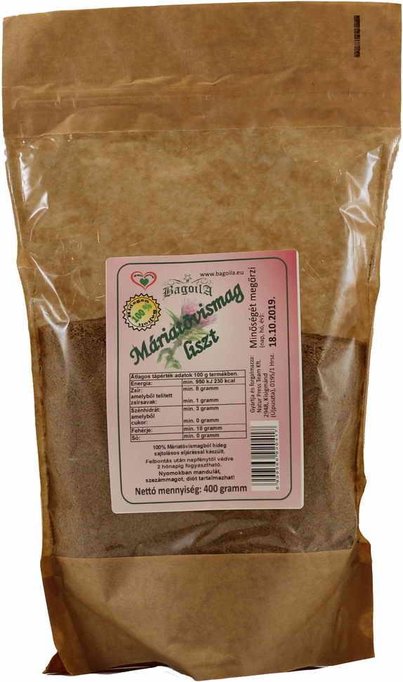 Bagoila Máriatövismag liszt 400 gramm