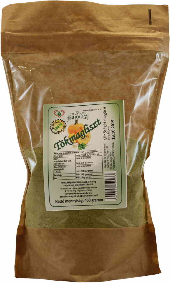 Bagoila Tökmag liszt 400 gramm
